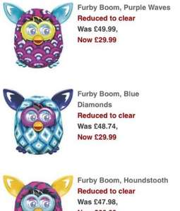 Furby Boom reduced to £29.99 @ John Lewis :)