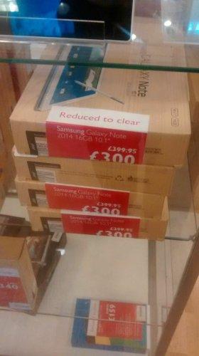 Samsung Galaxy Note 10.1 2014 16GB WiFi 2 Yr Warranty £300.00 @ John Lewis