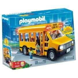 Playmobil school bus and ambulance half price £15 at tesco direct