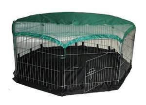 "48""x48"" (6 Panels) Pet Play Pen with Ground Sheet £23.73 Dispatched from and sold by Amazon"