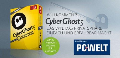 Free 6 Month CyberGhost VPN