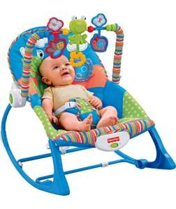 Fisher Price Infant To Toddler Rocker - frog. was £54.99 NOW £39.99 @ argos