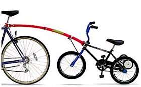 Trail Gator kids tow-bar tag along for bike. Halfords £41 Reserve and Collect