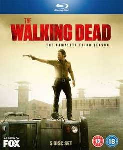 The Walking Dead Season 3 Blu-ray £16 Asda instore