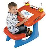 Keter Sit & Draw Play Table @ tesco direct for £14 free c&c