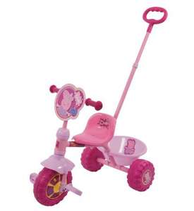 Peppa Pig my first Trike was £34.99 Now only £15.30 Delivered @ Amazon