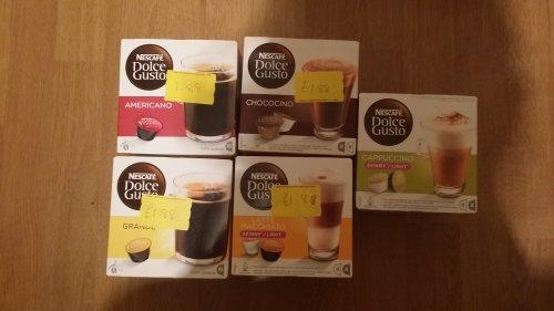 Nescafe Dolce gusto pods half price £1.88 @ Asda