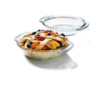 Glass Pie Dish, £2.00 + free delivery at Viners (and lots more sale items) @ Viners