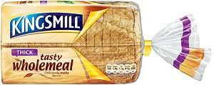 Kingsmill Bread (Mediium / Thick 50/50 / Wholemeal & Toastie) (800g) £1.00 now 2 for £1.60 @ Iceland