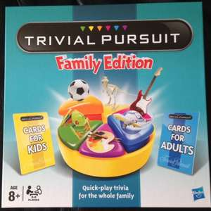 Trivial Pursuit Family Edition £16.65 in store @ Sainsburys