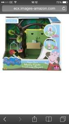 Peppa pigs tree house playset £16.99 @ B&M