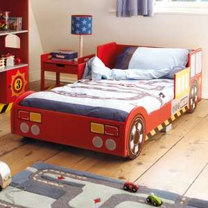 Fire Engine Toddler Bed Was £155 Now £93 + £3.95 Delivery @ Great Little Trading Co.