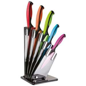 Taylors Eye Witness 5 Piece Coloured Knife Block £25.96 @ Panters on Amazon