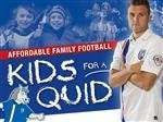 "Gillingham FC ""kids for a quid"" £1.00 matches announced."