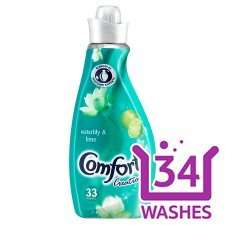 Comfort creations fabric softener all fragrances 34 wash Tesco £1.50