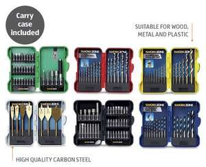Drill Bit Set only £3.99 inc case at Aldi