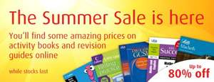 upto 80% off childrens workbooks plus automatic free delivery @ Collins
