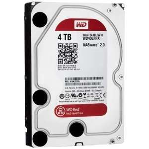 WD Red 4TB for NAS £119.98 at Amazon