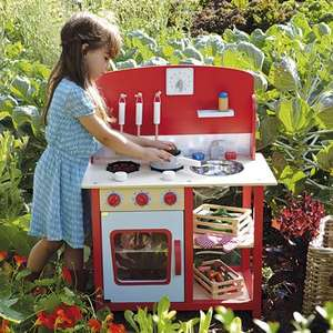 Kids Wooden Play Kitchen reduced from £90 to £72 @ GLTC