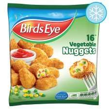 Birds Eye 16 Vegetable Nuggets 320g NOW down to 70p @ Tesco