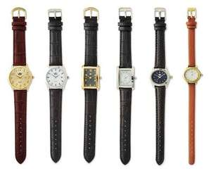 Ladies' and Men's Watches £6.99 from 17th August ALDI