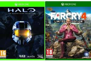 Halo: The MASTER CHIEF Collection (XB1) / FAR CRY 4 Limited Edition (PS4 / XB1) @ Tesco Direct (using code TDX-KF3P) - £39