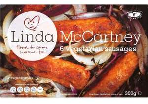 Linda McCartney Vegetarian Sausages (6) - Now £1 @ Morrisons...