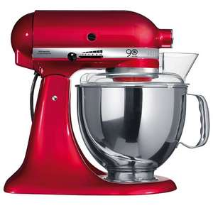 KitchenAid Artisan Stand Mixer, Candy Apple Red - £287.99 @ John Lewis