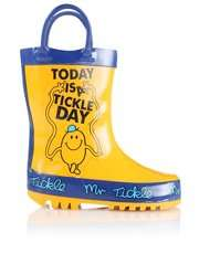 Kids Character Wellies £5 @ Asda :  Mr Tickle, Mr Noisy, Sonic The Hedgehog, Football