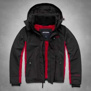 A&F ALL-SEASON WEATHER WARRIOR JACKET FLEECE LINED £56.00 @ Abercrombie & Fitch