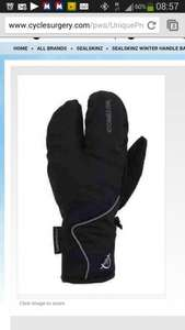 sealskinz lobster gloves winter cycling £26.99 @ cyclesurgery