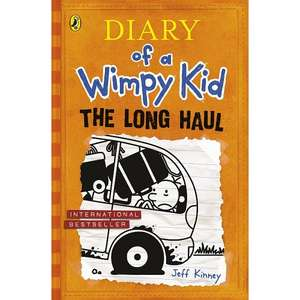 Diary of a Wimpy Kid - the Long Haul - preorder £5 hardback - free delivery - ASDA