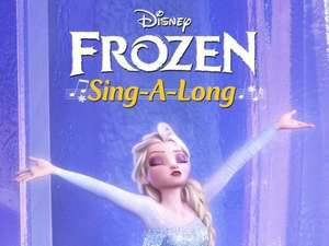 Frozen sing-along £3.00 at Odeon
