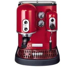 KITCHENAID 5KES100BER Artisan Espresso Machine - Red was £557.99 now £349.97 save £208.02 @ Currys