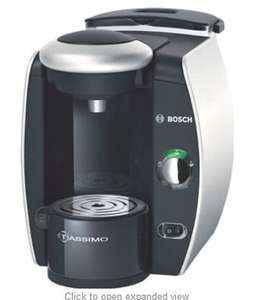 Bosch Tassimo T40 Coffee Maker, Silver £54.50 @ Amazon