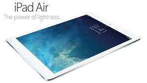 Apple iPad Air 16GB Silver on o2 upgrade 5gb of 4G Data £720