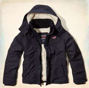 The Hollister All-Weather Jacket SHERPA LINED NEW ARRIVAL £59.40 @ Hollister