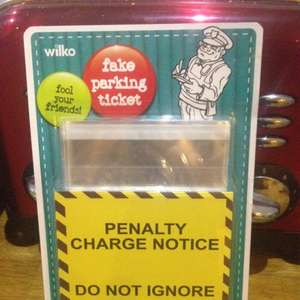 Penalty Charge Notice - pkt x 40 fake parking tickets 25p @ wilko in store