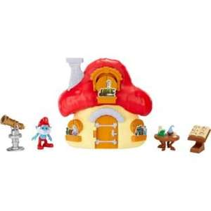 The Smurfs Mushroom House Playset Was £14.99 Now £7.99 Free C&C or £3.95 Delivery @ Argos