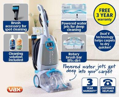 vax Rapide Cleaner £109.99 @ Aldi