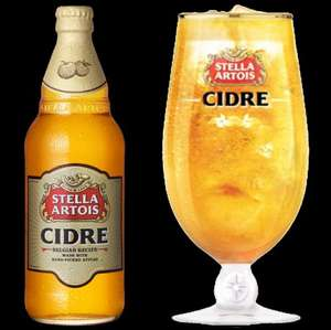 8 pack of Stella Artois Cidre with free glass £9.00 @ Sainsburys