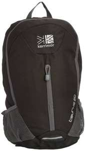 Karrimor Taurus 20L black only backpack £5.84 @ Amazon (free delivery £10 spend/prime)