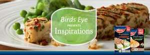 Birds Eye Inspirations Chicken £2 (240g) and Fish £1.50 (300g) in Morrisons (Get paid £1.50 for buying / scanning receipt with ClickSnap app) Today only!