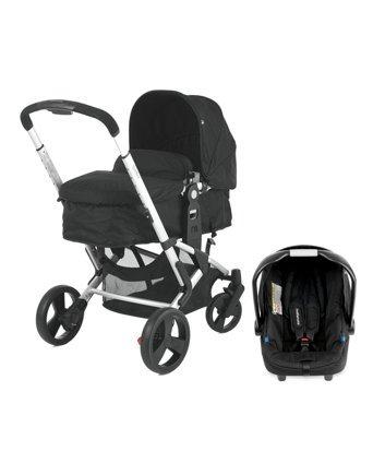 Mothercare Xpedior 4 Wheel Pram & Pushchair Travel System £199
