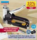 Heavy-duty Staple Gun £3.99 @Lidl