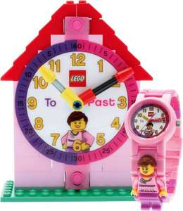 Lego® Girls' Time Teacher Clock Set @ Ebay Argos Outlet £12.99 delivered