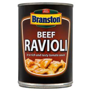 Branston Beef Ravioli 400g was 87p now 50p @ ASDA