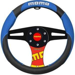Momo Steering Wheel Cover - Black and Blue was £13.9 now £5.99 delivered @ Argos