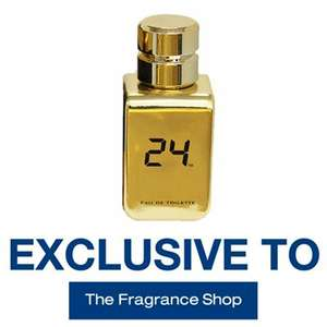 24 Gold Eau de toilette 50ml (RRP £28) only £15 Plus £2.99 Delivery or Free C&C @ Fragrance Shop