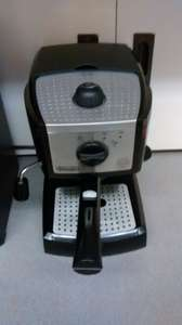 DeLonghi EC155 Pump Driven Espresso/Cappuccino Machine and ESE pod coffee maker £49.95 Currys in-store
